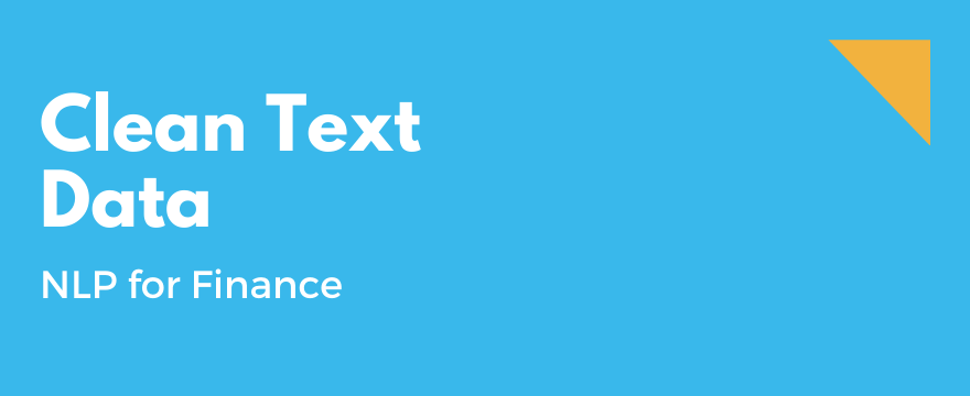 How to Clean Text Data