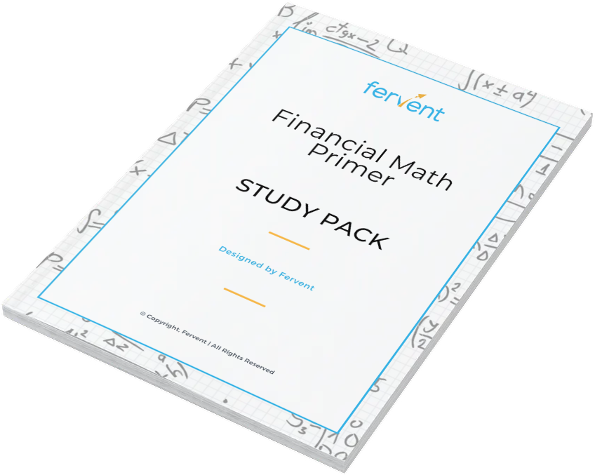 Financial Math Primer for Absolute Beginners Study Pack Feature