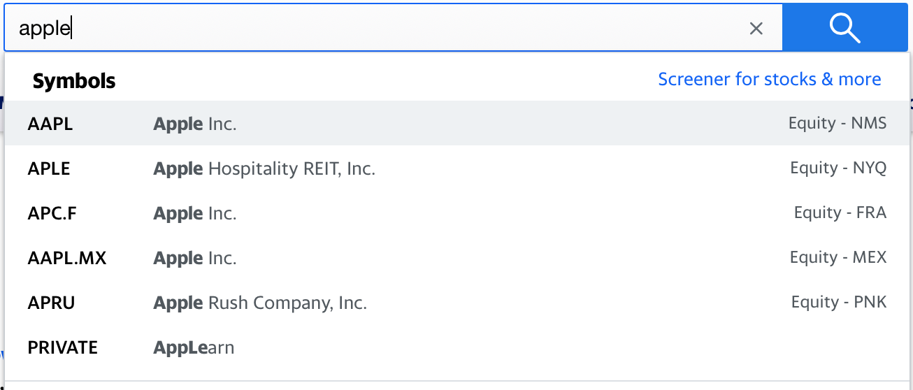 Image showcasing Apple ticker in the context of how to read stock numbers