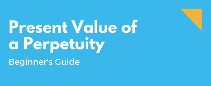 Feature Image highlighting the topic and theme for Present Value of a Perpetuity - Complete Beginner's Guide